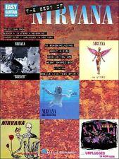 NIRVANA - KURT COBAIN EASY GUITAR TAB BOOK - SONGBOOK