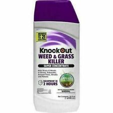 Knock Out 32oz 41% Super Concentrate Weed & Grass Killer Makes Up To 21 Gallons