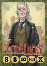 Button Men: Doctor J. Robert Lucky promo card New