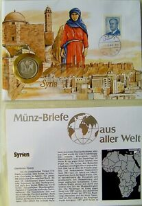 Syrien Numisbrief ★★★ 1 Lira unc. ★★★   86