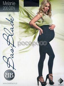 Leggings Maternity 200 Den Bas Blach Art. Melanie