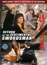 RETURN OF THE SENTIMENTAL SWORDSMAN -Hong Kong RARE Kung Fu Martial Arts Action