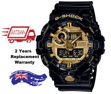 Casio G-SHOCK Analogue/Digital Mens Black/Gold Watch GA710GB-1A GA-710GB-1ADR