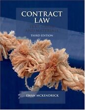 Contract Law: Text, Cases, & Materials: Text, Cases, and Ma .9780199208012