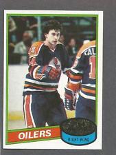 1980-81 Topps Hockey Blair MacDonald #32 Edmonton Oilers NM/MT