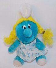 Vintage Smurfs Smurfette  Plush  Stuffed Animal Wallace Berrie