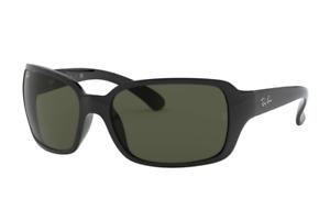 Ray Ban Sunglasses RB4068 601 60 Black Frame | Green Classic G-15 Lens