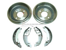 FIAT PUNTO MK2 60 1.2 8V 99-05 REAR 2 BRAKE DRUMS AND SHOES (READ DESCRIPTION)
