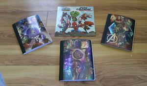 Kids Marvel Avengers Infinity War 2020 Calendar & Composition Books (Lot of 4)