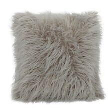 "20"" Soft Fur Plush Square Throw Pillow Cases Home Decor Sofa Waist Cushion Cover"