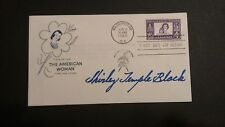 Shirley Temple Black MINT AUTOGRAPHED 1960 First Day Cover  JSA COA