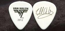 VAN HALEN 2012 Truth Tour Guitar Pick!!! EDDIE VAN HALEN custom concert stage #4