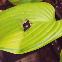 ANTIK STIL Exklusiver Art Deco Diamant Onix Ring Echtes 585 Weißgold