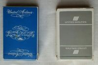 VINTAGE Lot of 2 UNITED AIRLINES Playing Cards