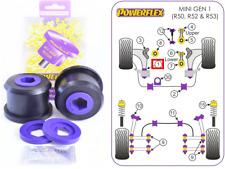 2x Powerflex Poly Front Wishbone Rear Bushes Mini One/Cooper/S R50 R52 R53 00-06