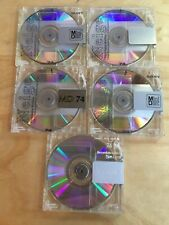 Used 74 minute Blank Mixed SONY NEIGE versions minidisc Lot