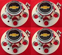 "NEW CHEVROLET CHEVY GMC TRUCK 5 LUG 15"" 15x8 15x7 RALLY WHEEL CENTER HUB CAPS"