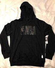 NBA Logoman UNK Black Hoodie Black-on-Black Size Large, XL