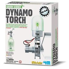 TOYSMITH 4M 3645 Dynamo Torch Science DIY Kit Ages 8+