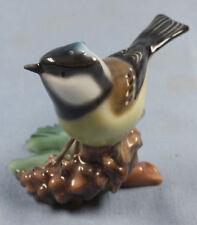Meise Heubach figur Vogelfigur porzellan figur tit figurine vogel