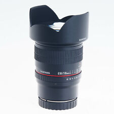 Canon Samyang 10mm F2.8 ED AS NCS CS Manual Focus Wide Angle  Lens EF-M Mount