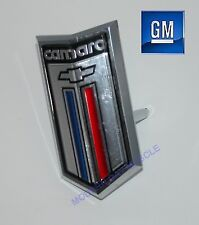 80-81 Chevy Camaro Standard Front Grill Mounted Emblem NEW GM 14016384