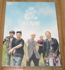 B1A4 2014 Road Trip to Seoul READY? LIVE DVD + 80P PHOTOBOOK + FOLDED POSTER