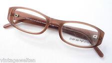 Armani Kunststoffbrille Damengestell Naturbraun frame kleine Form zeitlos size S