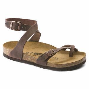 Sandalo Birkenstock Yara infradito 013391 colore habana VERA PELLE
