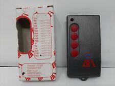 BFT D111615 TRC4 telecomando rolling code 4 canali 433MHz ORIGINALE NUOVO