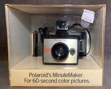 Rare New Vintage Polaroid Minute Maker Instant Land Camera Never Used