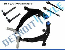 for 2003 2004 Nissan Murano Front Lower Control Arm Ball joint Tierod kit