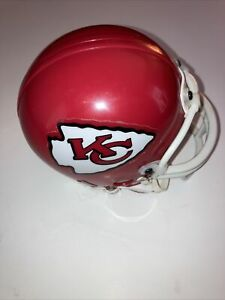 VINTAGE 1995 NFL KANSAS CITY CHIEFS FOOTBALL RIDDELL 3 5/8 SIZE MINI HELMET