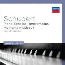 Ingrid Haebler, R. S - Piano Sonatas & Impromptus [New CD] Collector's Ed