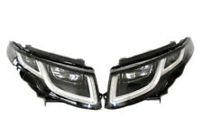 2x New Original Full LED Headlights Rover Evoque Facelift 2015-2016