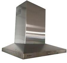 CAPPA CUCINA 60CM ASPIRANTE PARETE CAMINO acciaio INOX 364m³/h Tecnowind KLH7066