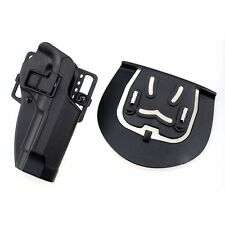 Pistol Airsoft Hunting Right Handed Paddle Holster with Belt for Bereta M9 M92