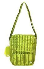 NEW LUG Moped Day Pack Bag Purse Handbag Green Brown NEW