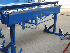Mobile Abkantbank 2m/1.2mm 160 Grad, Rollenschere, Abkantmaschine, Biegemaschine