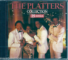 The Platters. Collection 25 Songs (1993) CD NUOVO The Great Pretender. Only you
