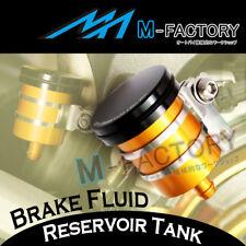 Gold Billet Rear Brake Fluid Reservoir Tank For Suzuki GSXR 600 / 750 2004 05