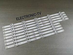 8 BARRETTES LEDS  /BACKLIGHT  POUR TV LG 47LB650V