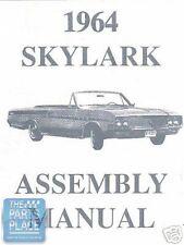 1964-64 Buick Skylark Assembly Manual - Each
