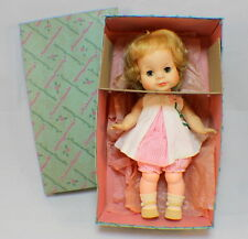 "Madame Alexander 12"" Vintage Janie Doll in original box and clothes #1158"