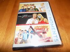 Hot Tub Time Machine I Hope They Serve Beer in Hell Bachelor Party 2 DVD SET NEW