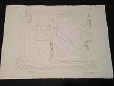 """Picasso """"Suite Vollard"""" Bloch #175, Limited Edition, Picasso Family Authorized."""