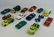 Lesney England Matchbox Car Lot Mustang Mercedes 300 SE Iso Grifo Ford Galaxie