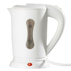 Small Dual Voltage 0.5L Electric Travel Kettle Camping Jug with 2 Cups Included