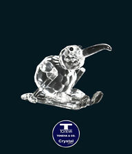 "[SPECIAL OFFER] ""Small Kiwi Skiing"" Austrian Crystal Figurine was AU$40.00"