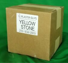 DENTAL YELLOW BUFF STONE Type 3 - 38 Lb for $48 - THE BEST VALUE! FREE SHIPPING!